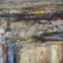 Elemental_No_25 91 x 91 cm acrylic on ca