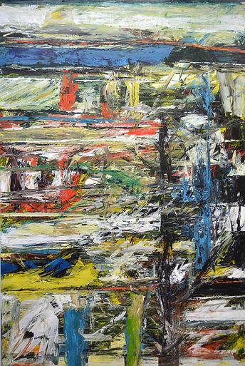 Elemental_No_17 150 x 100 cm acrylic on