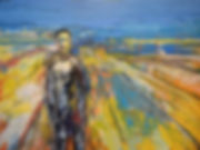 Figure_in_a_Landscape_ No_2 90 x 120 cm