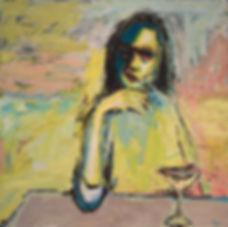 Sweet_Jane  90 x 90 cm acrylic on canvas