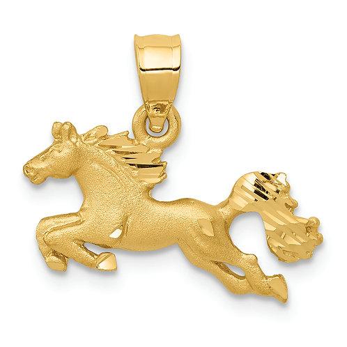 14k Horse Charm