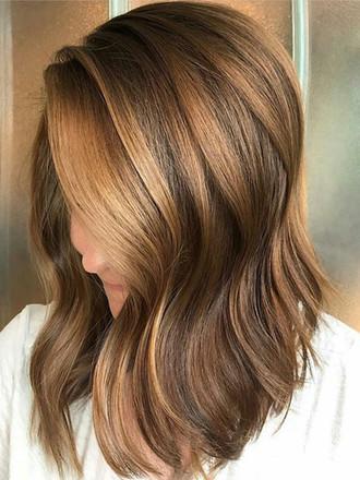 Vlasy v barvách podzimu