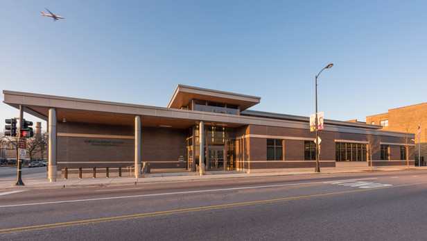 albany park library - chicago