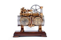 Reloj Maquina de Vapor