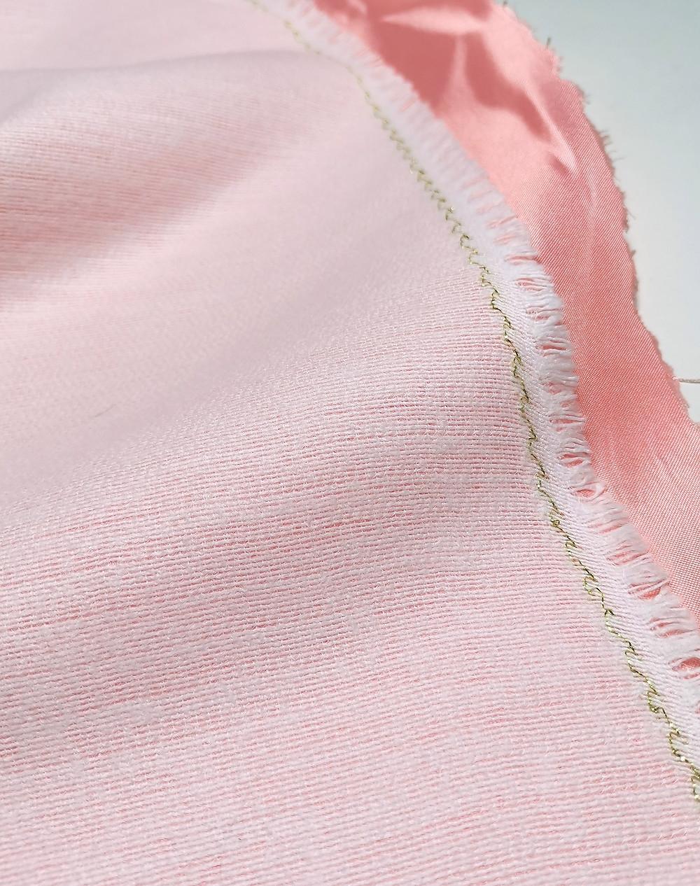 fusible woven jacket interfacing close up