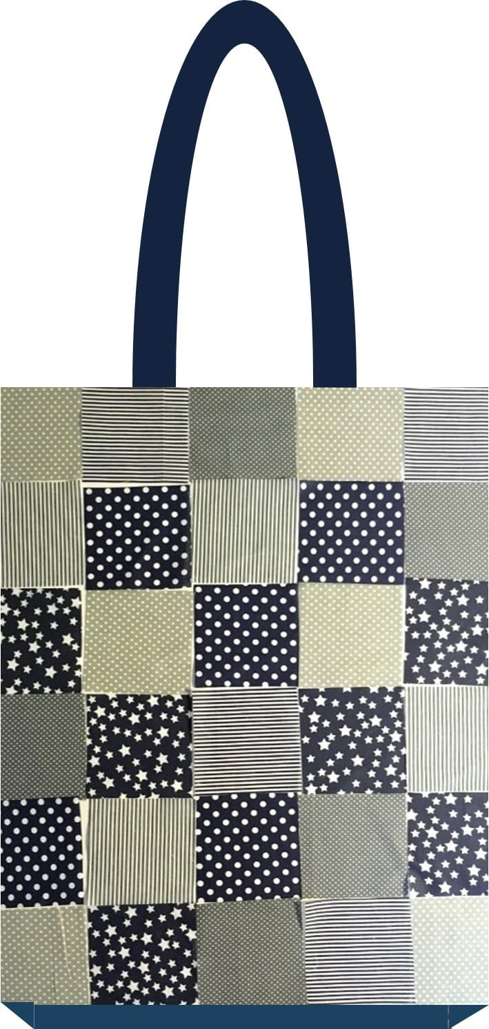 How to make a patchwork tote bag - Complete!