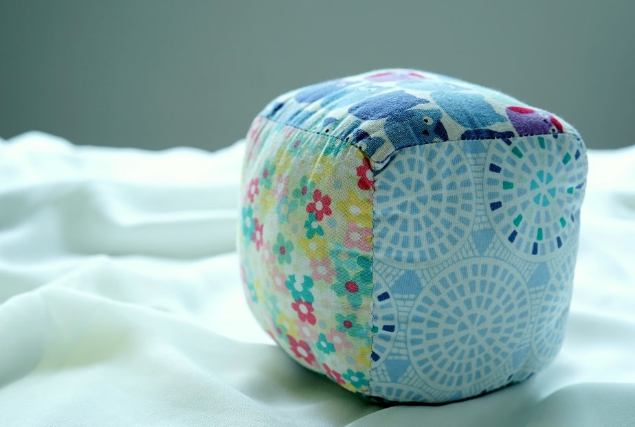Fabric Patchwork Cube