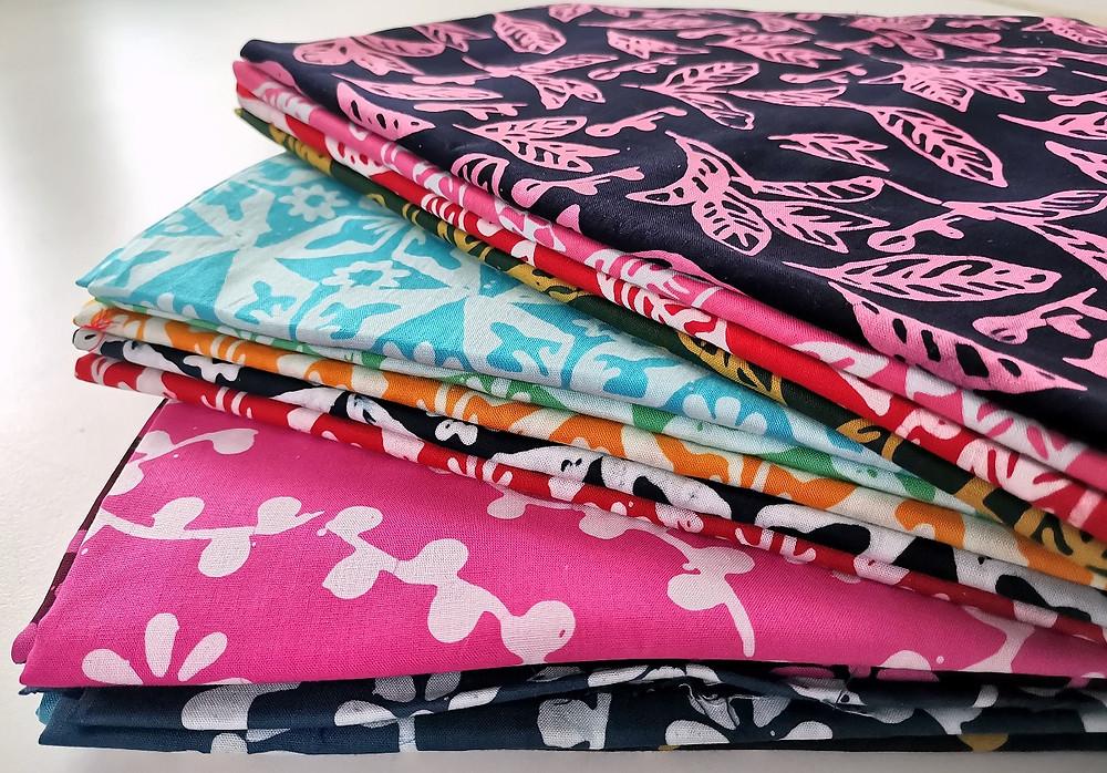 Colourful Terengganu batik