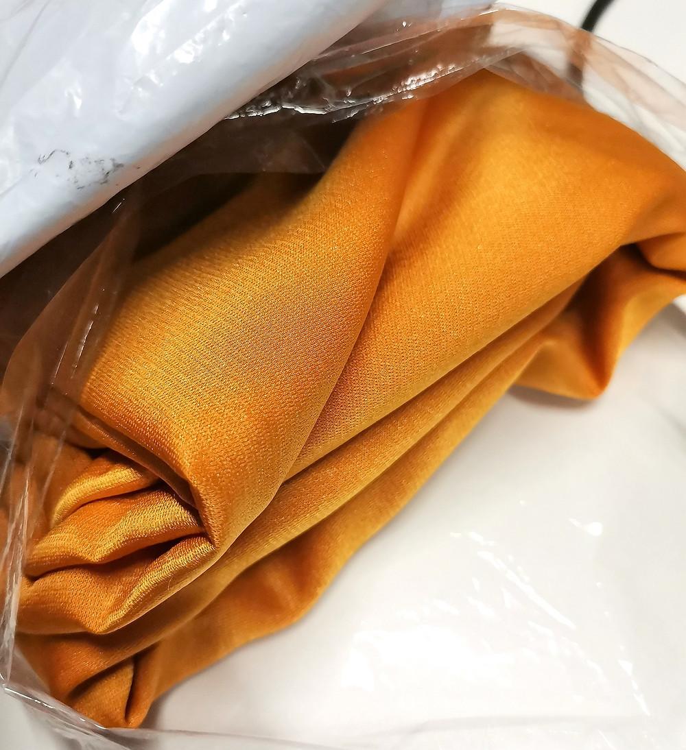Honey Gold Satin Fabric