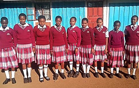 A2E Sponsored students at KJA in Novembe