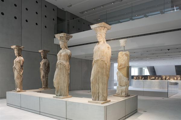 Caryatids Acropolis Museum