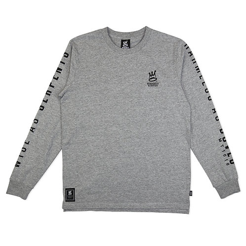 S&D Almighty Lock Up LS Athletic Heather