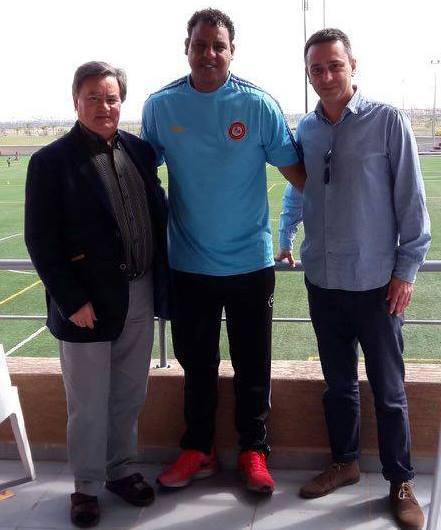 Lucídio Ribeiro, Tahar El Khalej et Guillaume Ribeiro