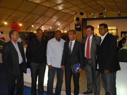 Merry Krimau, Aziz Bouderbala, Lucídio Ribeiro et Tahar El Khalej