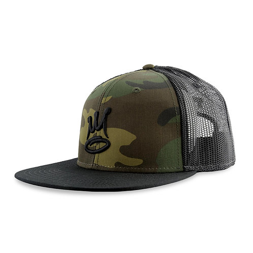 The Almighty Basic Snap Mesh Black/Camo
