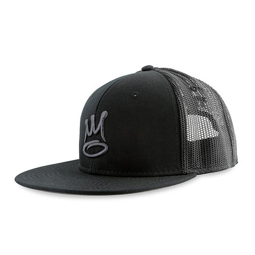 The Almighty Basic Snap Mesh Black/Tone