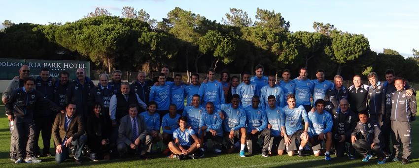 La Sélection d'Uruguay avec DCI Sport