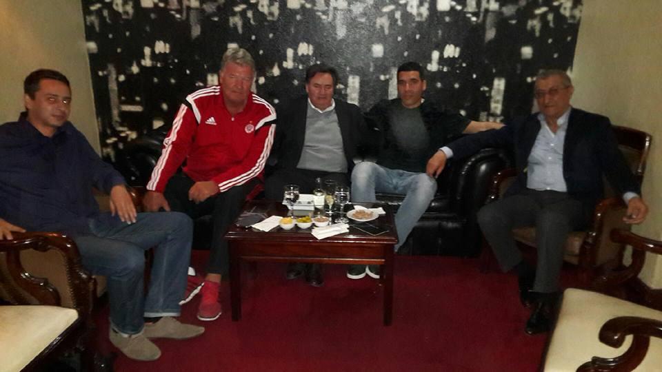 Guillaume Ribeiro, John Toshack, Lucídio Ribeiro, Nourredine Naybet et Mohamed Aouzal