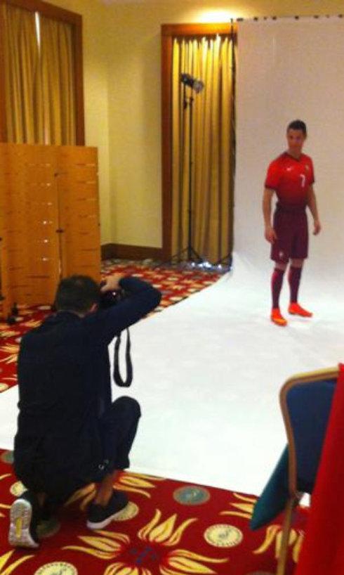 Shooting Ronaldo