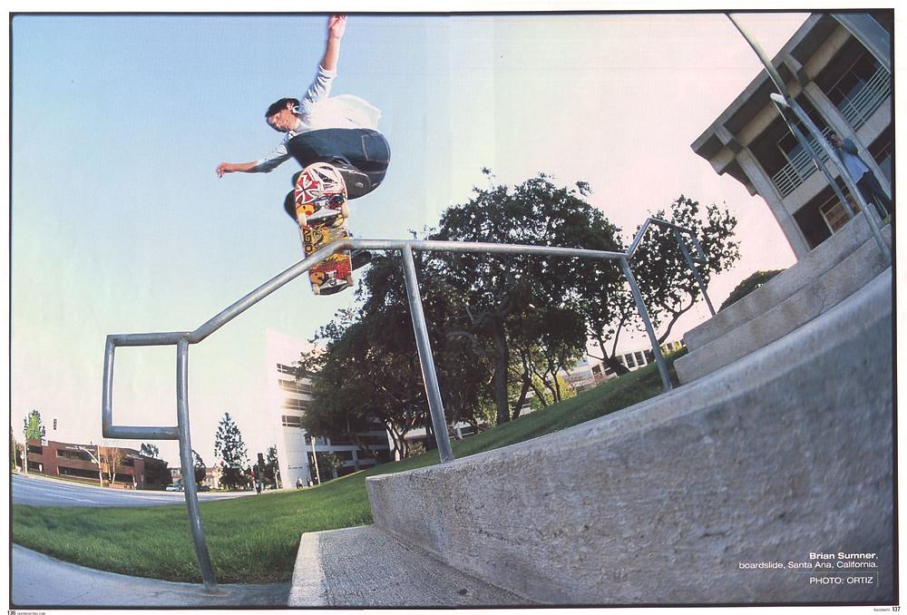 Brian Sumner doing his favorite tricks.