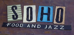 Soho Food and Jazz Sign