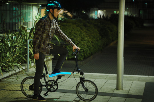 LumiLor Bicycle and Helmet