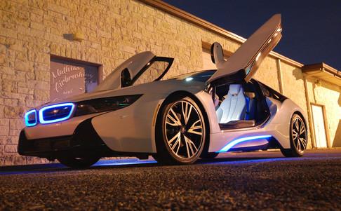 BMW i8 by Mathias Airbrushing