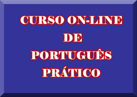 CURSO ON-LINE DE PORTUGUÊS PRÁTICO