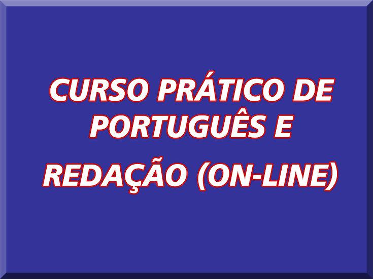 CURSO PRÁTICO DE PORTUGUÊS E REDAÇÃO (ON-LINE)