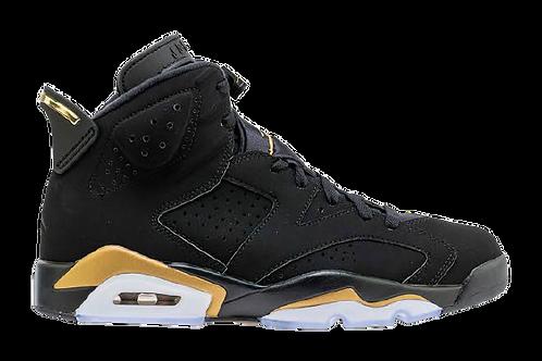 Jordan Retro 6 Black/Gold