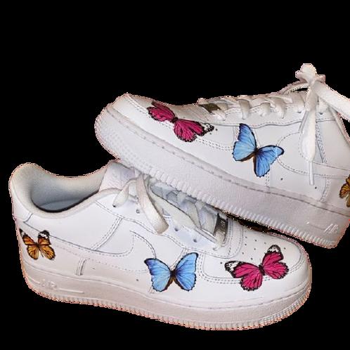 Nike Air Force 1 Custom Butterflies V3