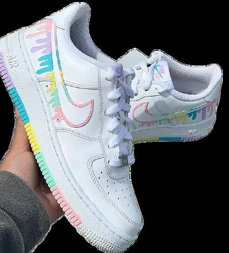 Nike Air Force 1 Custom Drip Colorful