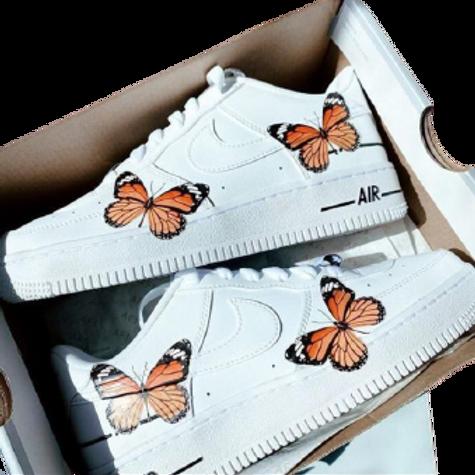 Nike Air Force 1 Custom Butterflies V1