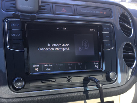[Backup Camera] 2012 VW Tiguan R Line with Factory Screen