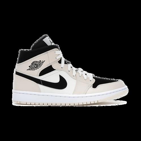 Nike Air Jordan 1 Mid Cream/Black