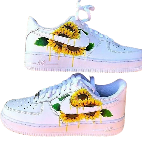 Nike Air Force 1 Custom Sun Flowers