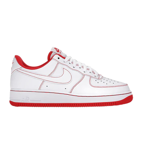 Nike Air Force 1 07 Low White University Red