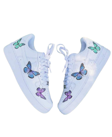 Nike Air Force 1 Custom Butterflies V2