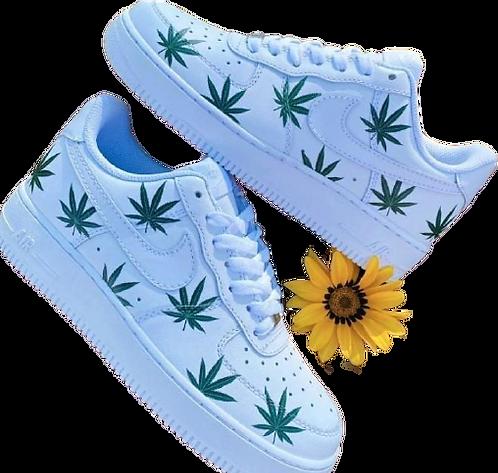 Nike Air Force 1 Custom Weed