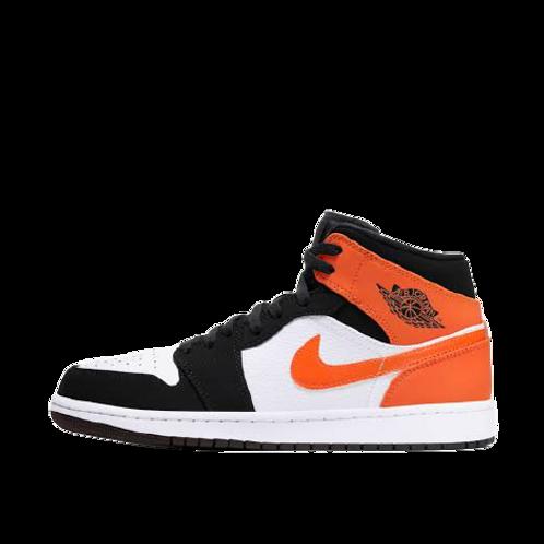 Nike Air Jordan 1 Black and Starfish
