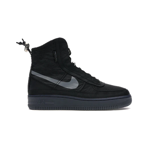 Nike Air Force 1 High Shell Black/Dark Grey