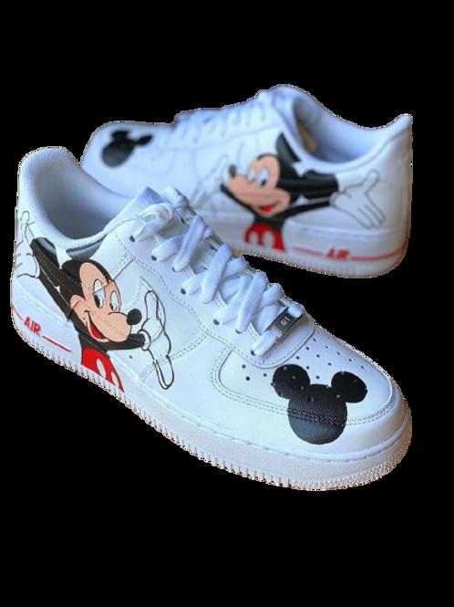 Nike Air Force 1 Custom Mickey Mouse