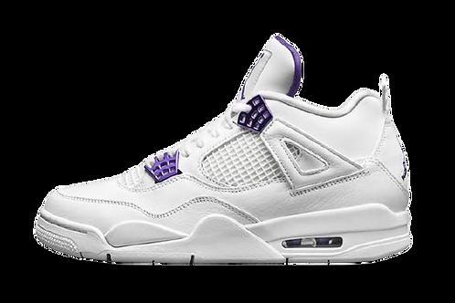 Jordan 4 Retro Purple Metallic