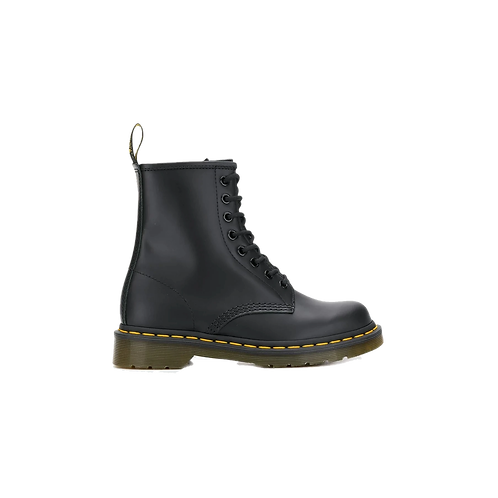 Dr. Martens 1460 Smooth Leather Lace Up Boots Black
