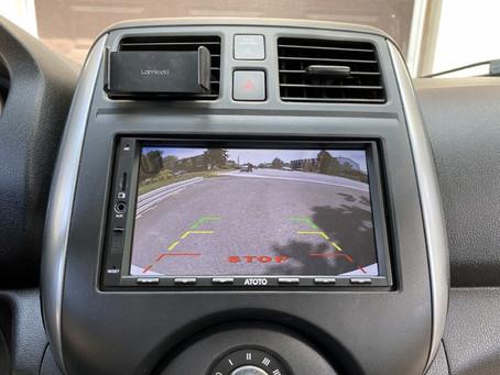 [Backup-CAM] Nissan Versa 2013