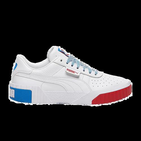 Puma Cali White/Blue/Red
