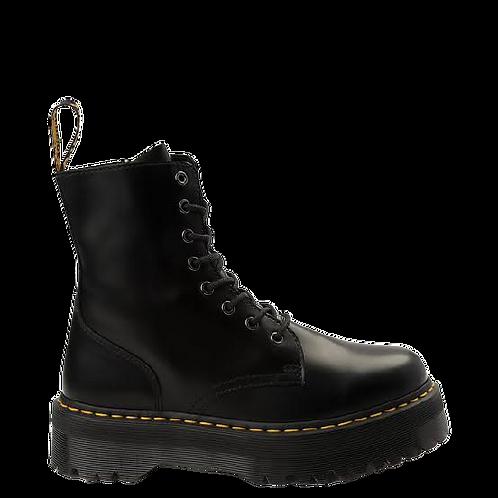 Dr Marten Boot Platform Black