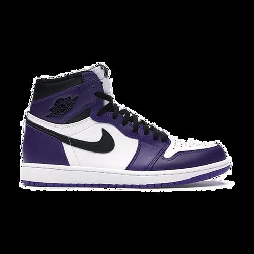Nike Air Jordan 1 Court Purple White