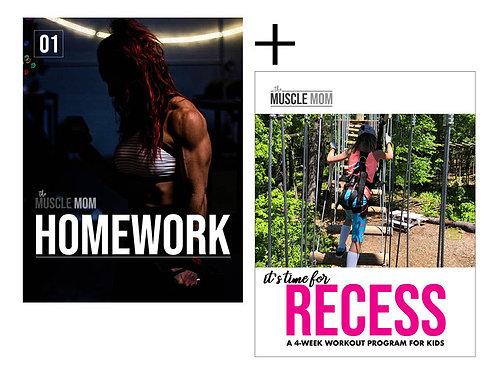 BUNDLE: HOMEWORK + RECESS