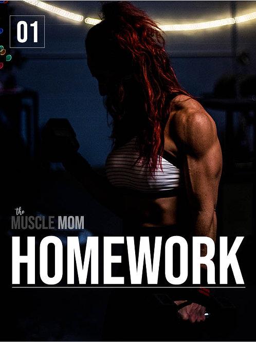 HOMEWORK: A 6-week Home Workout Program